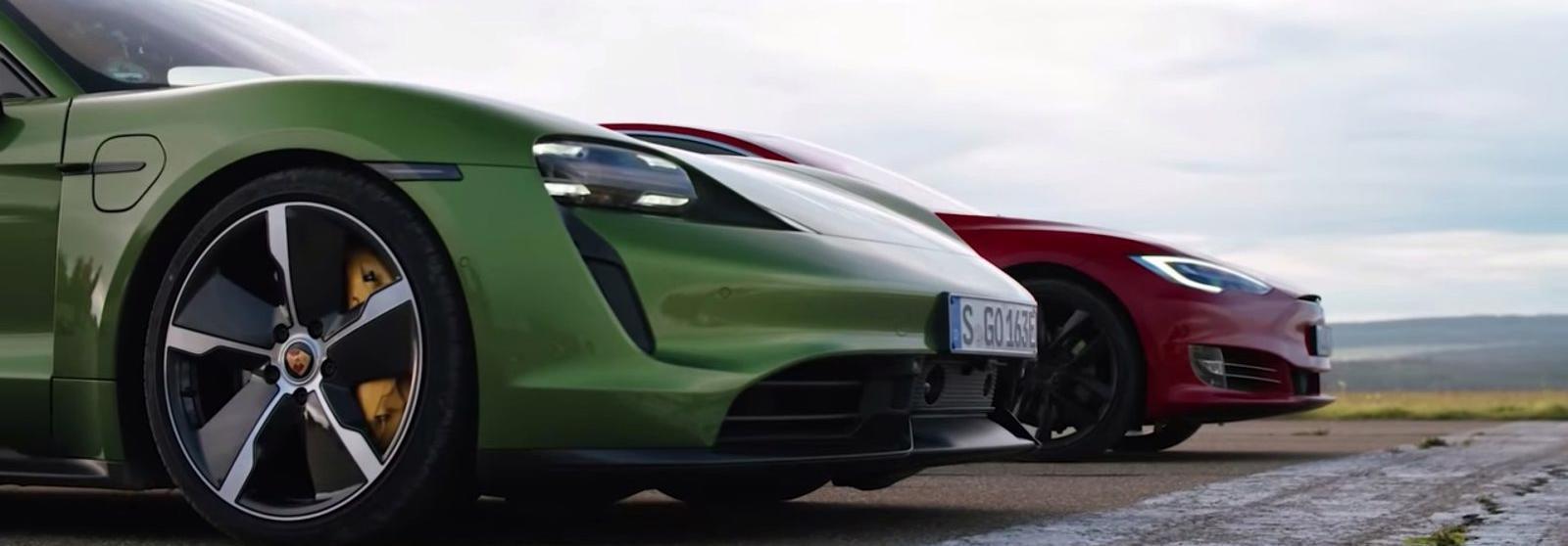 Vì sao Porsche Taycan khó thắng Tesla Model S về doanh số?