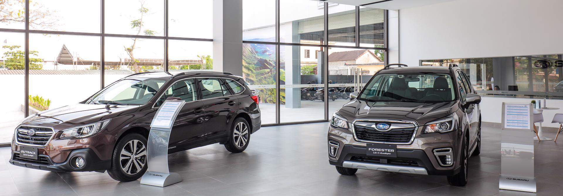 Giá xe Subaru Forester tháng 5/2021, từ 969 triệu đồng