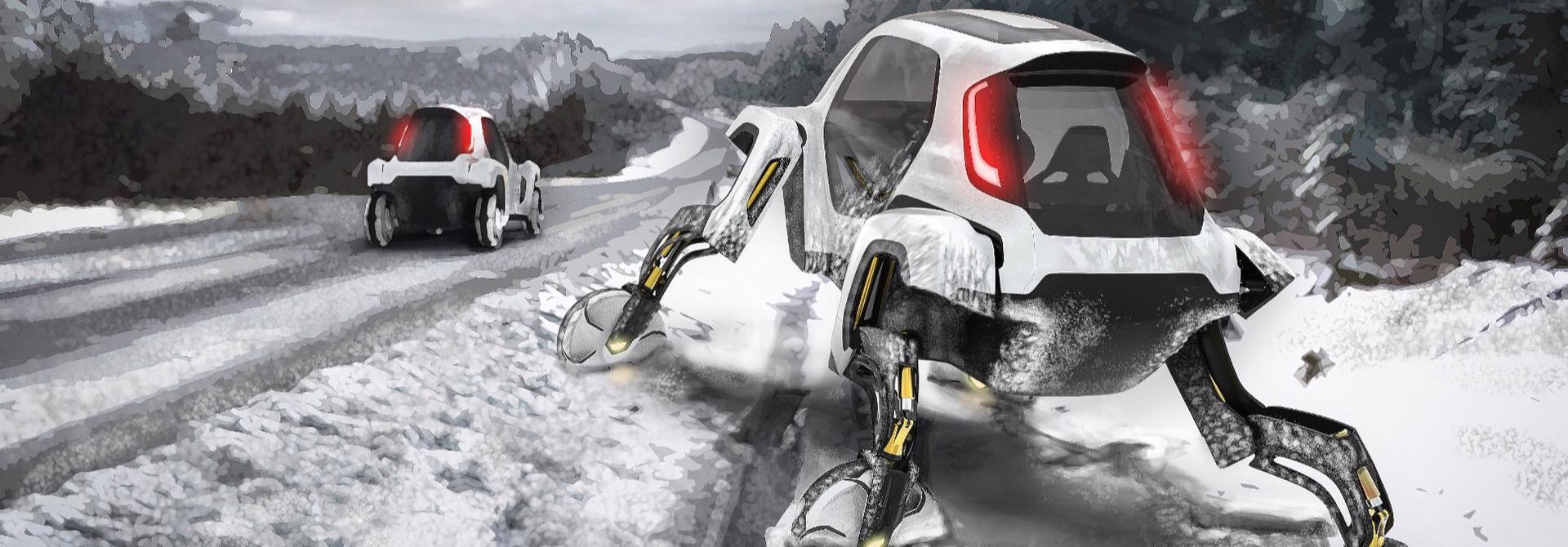 Hyundai muốn phát triển những chiếc ô tô ... kỳ cục này
