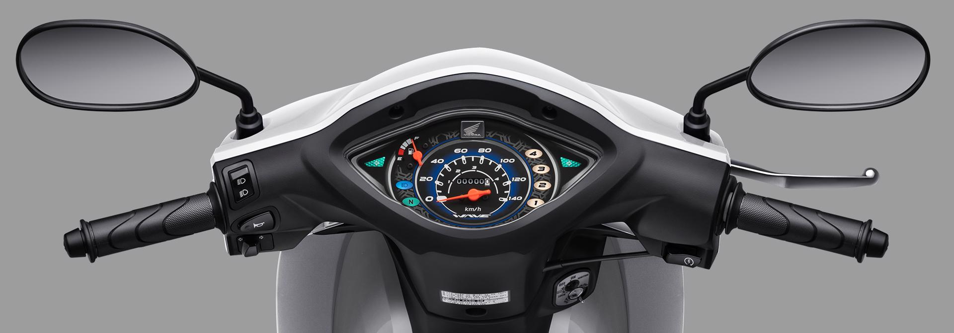 Wave Alpha 110cc mới ra mắt, giá 17.790.000 đồng