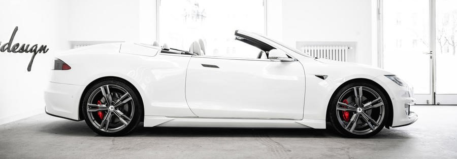 Biến Tesla Model S thành xe mui trần