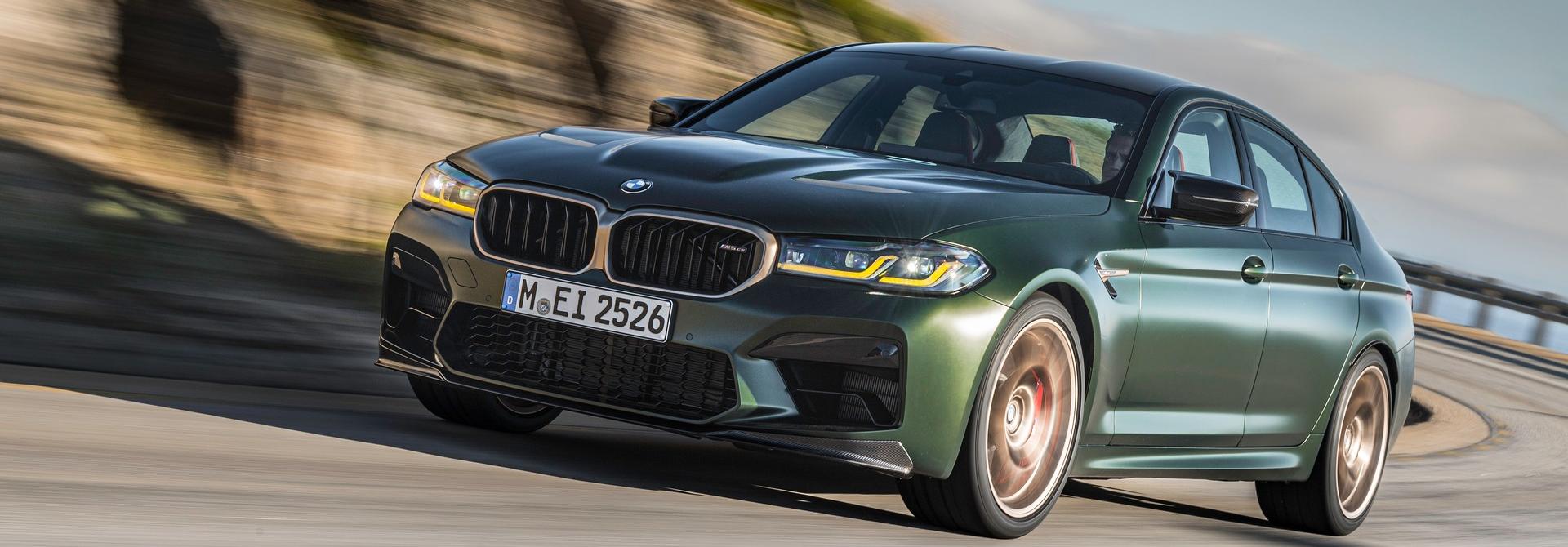 BMW M5 CS 2022 chính thức ra mắt
