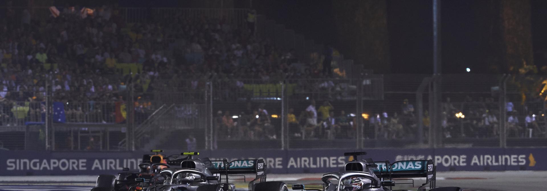 Huỷ chặng đua F1 tại Singapore GP 2021