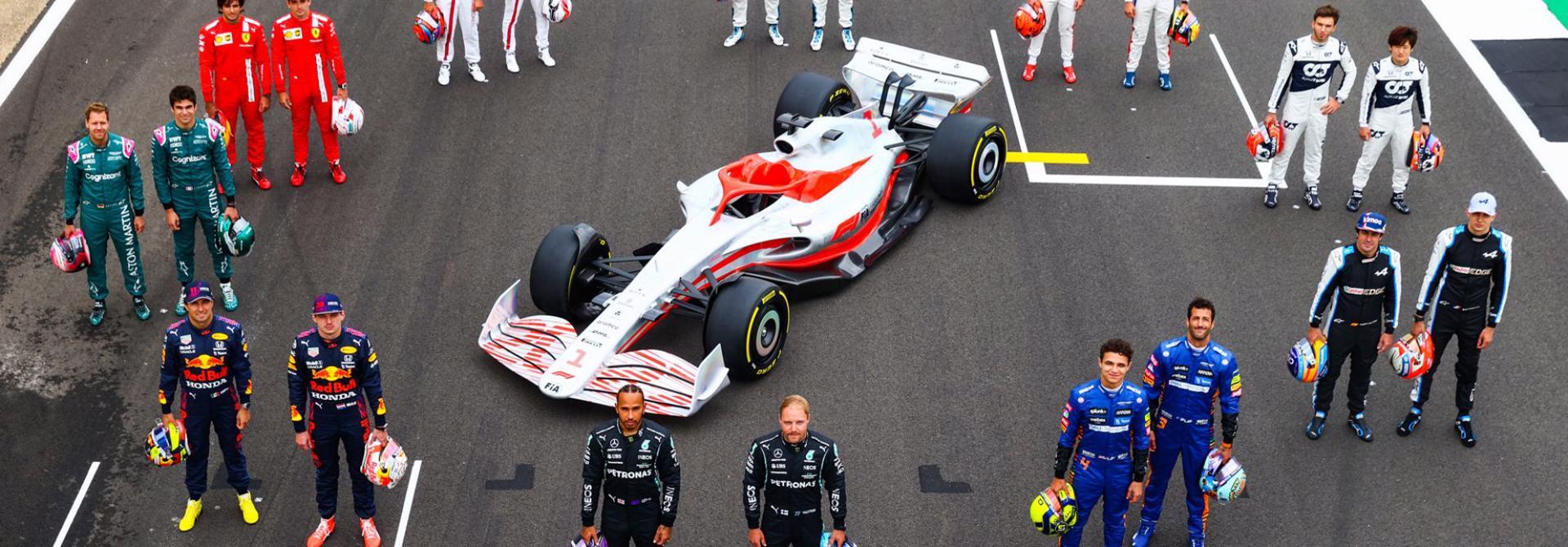 Xe F1 mùa giải 2022 sẽ thay đổi như thế nào?