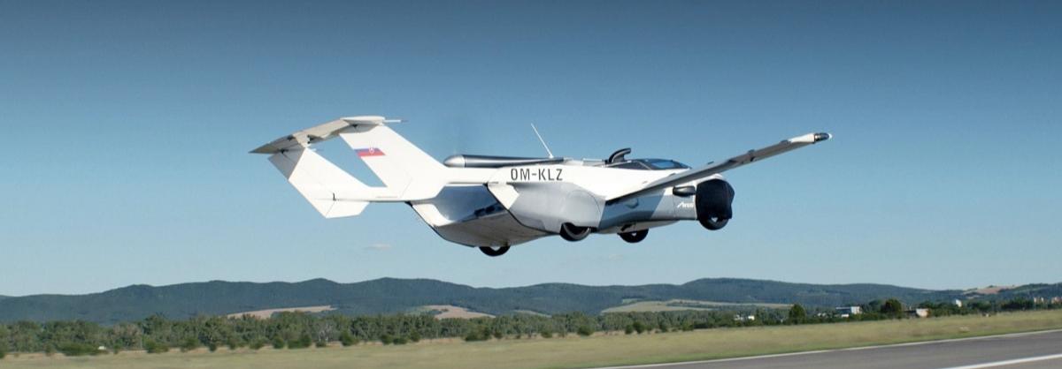 Lái ô tô bay đi làm: Không còn là phim viễn tưởng