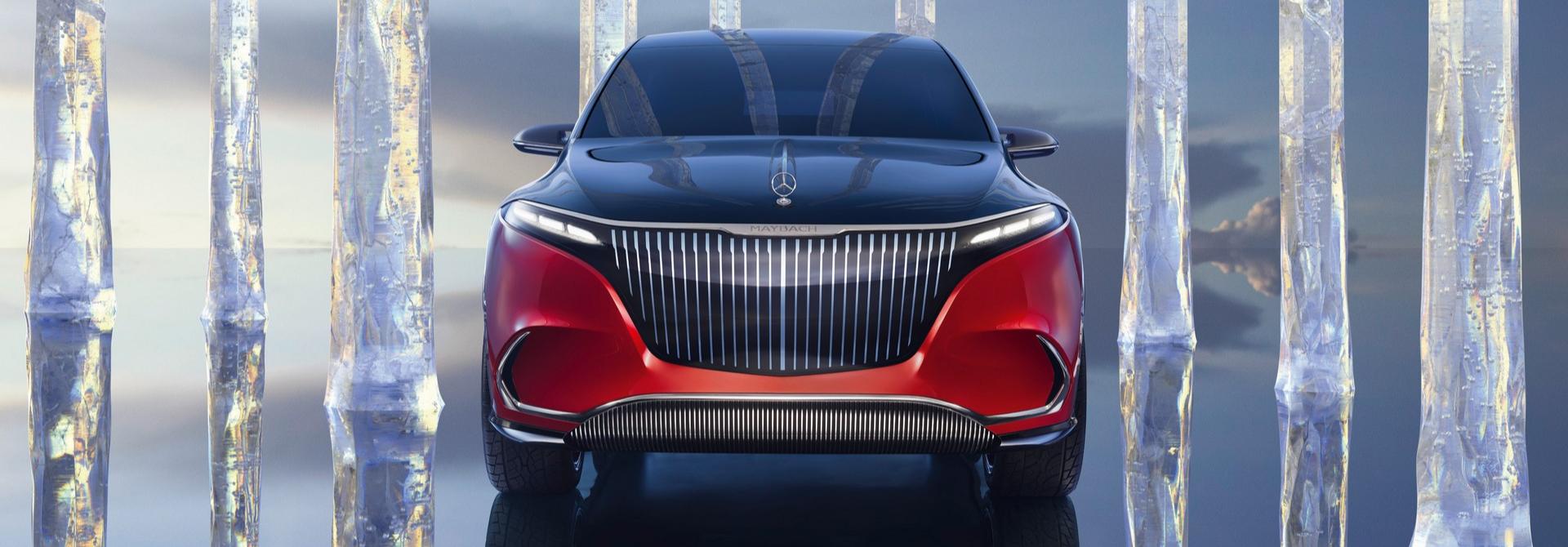 """SUV Maybach EQS chạy điện hoàn toàn """"hơn cả sang trọng"""""""
