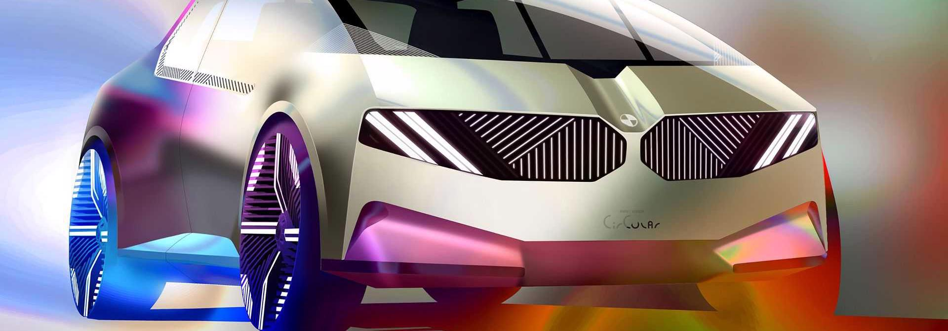 BMW i Vision – Xe đô thị tái chế độc đáo