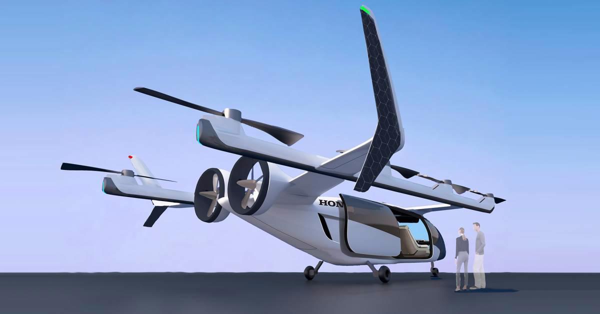 """eVTOL - """"Ô tô bay"""" tương lai của Honda"""