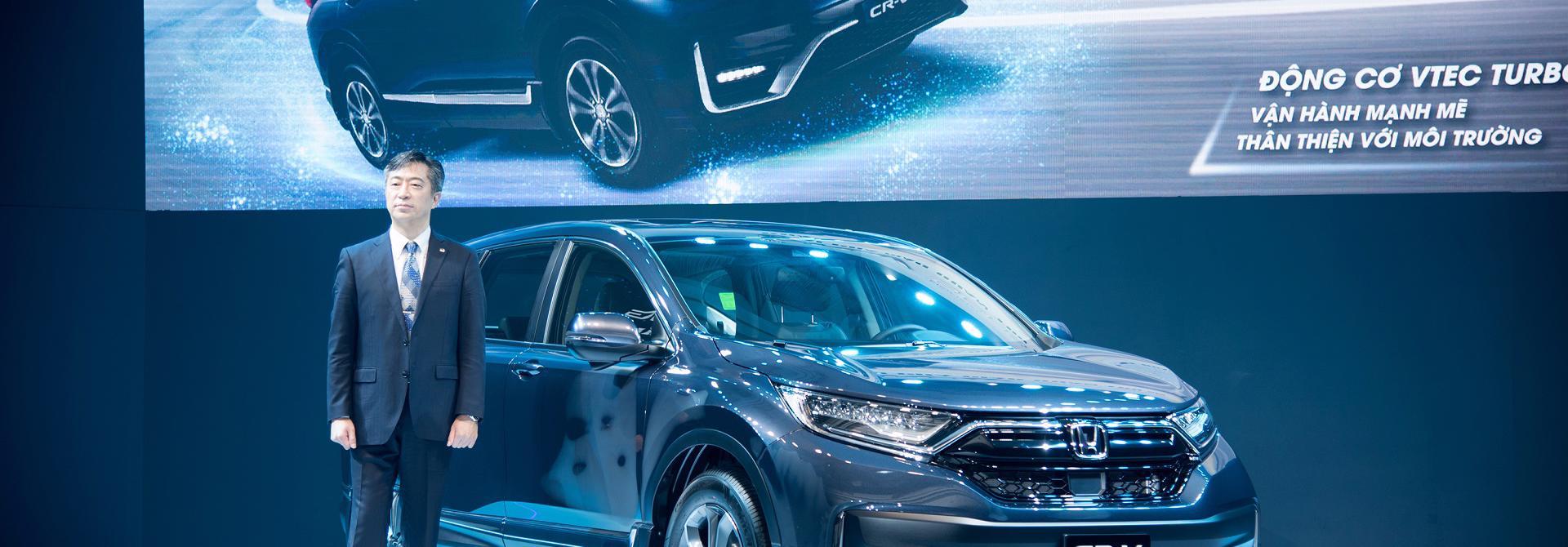 Hỗ trợ 100% lệ phí trước bạ cho Honda CR-V