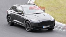 Hé lộ hình ảnh siêu SUV Aston Martin DBX có thể sở hữu động cơ mạnh hơn