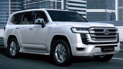 Toyota Land Cruiser 2022 mới chính thức ra mắt: Thay đổi thiết kế, giảm trọng lượng, động cơ mới - Ảnh 3
