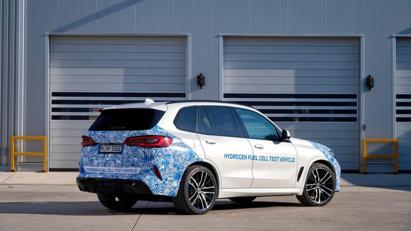 BMW i Hydrogen Next chạy pin hydro lộ diện trên đường - Ảnh 8