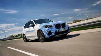 BMW i Hydrogen Next chạy pin hydro lộ diện trên đường - Ảnh 6