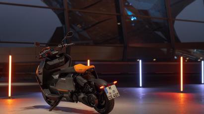 BMW ra mắt scooter điện tương lai CE 04 giá khởi điểm 11,795 USD - Ảnh 5