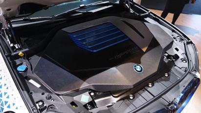 BMW trình diễn mẫu SUV chạy pin nhiên liệu hydro iX5 tại triển lãm Munich - Ảnh 7