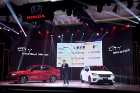 Honda City 2021 giá bao nhiêu?