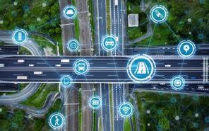 """Trung Quốc thử nghiệm """"đường thông minh"""" có thể trao đổi thông tin với ô tô"""