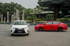 Giá lăn bánh Toyota Vios 2021 vừa ra mắt