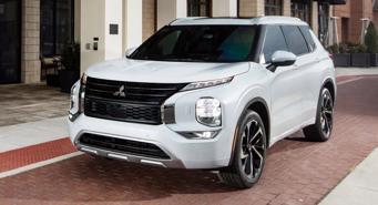 Mitsubishi Outlander 2022 giá từ 26.990 USD, giao xe vào tháng 4