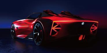 MG Motor hé lộ concept xe thể thao điện Cyberster