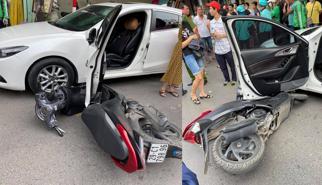 Mở của xe ô tô không chú ý, gây tai nạn bị xử phạt thế nào?