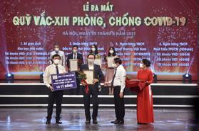 Toyota Việt Nam ủng hộ 10 tỷ đồng cho Quỹ vắc-xin phòng Covid-19