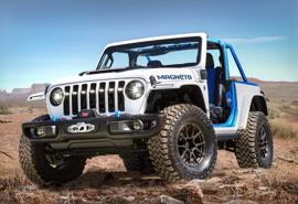 Xe Jeep hoàn toàn chạy điện sẽ ra mắt vào năm 2023