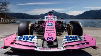 Chiêm ngưỡng chiếc F1 màu hồng của đội Racing Point cho mùa giải 2020