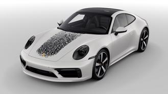 In vân tay lên xe - gói cá nhân hoá độc đáo của Porsche