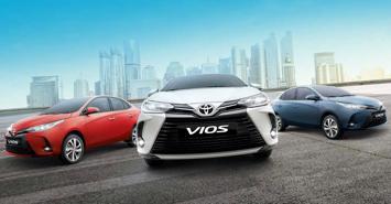Toyota Vios 2021 ra mắt tại Philippines