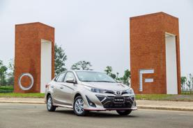 Toyota Vios giảm giá còn 445 triệu đồng