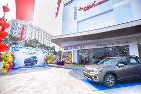 Forester hút khách, Subaru khai trương thêm đại lý ủy quyền