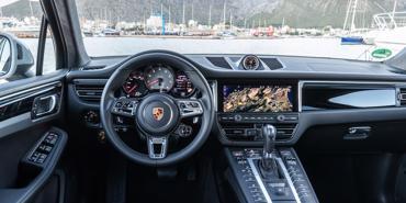 Điểm đặc biệt trong nội thất xe Porsche