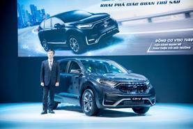 Honda CR-V hỗ trợ 100% lệ phí trước bạ, khách hàng tiết kiệm hơn 100 triệu đồng