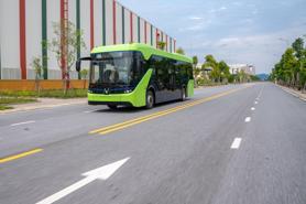 Vingroup công bố chạy thử thành công xe buýt điện đầu tiên