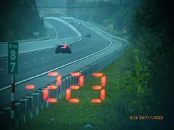 Phạt tài xế BMW chạy 233 km/h trên cao tốc Bắc Giang - Lạng Sơn 11 triệu đồng