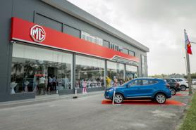 MG Việt Nam khai trương đại lý lớn nhất