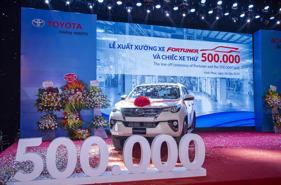Toyota tăng trưởng kỷ lục tại Việt Nam