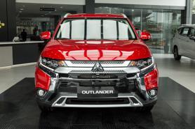 Mitsubishi Outlander phiên bản nâng cấp giá 950 triệu đồng