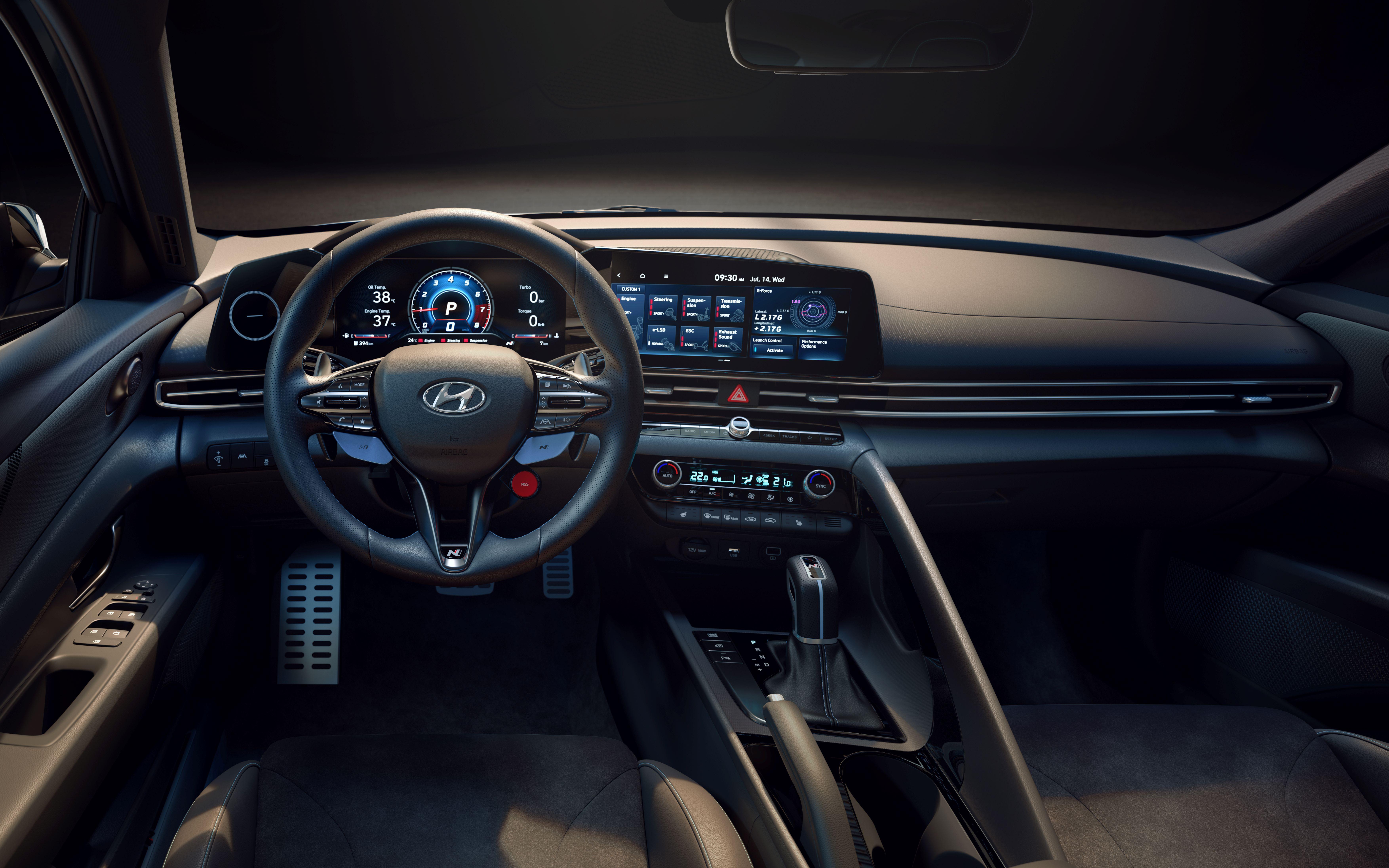 Chi tiết Hyundai Elantra N 2022 vừa chính thức ra mắt - Ảnh 6
