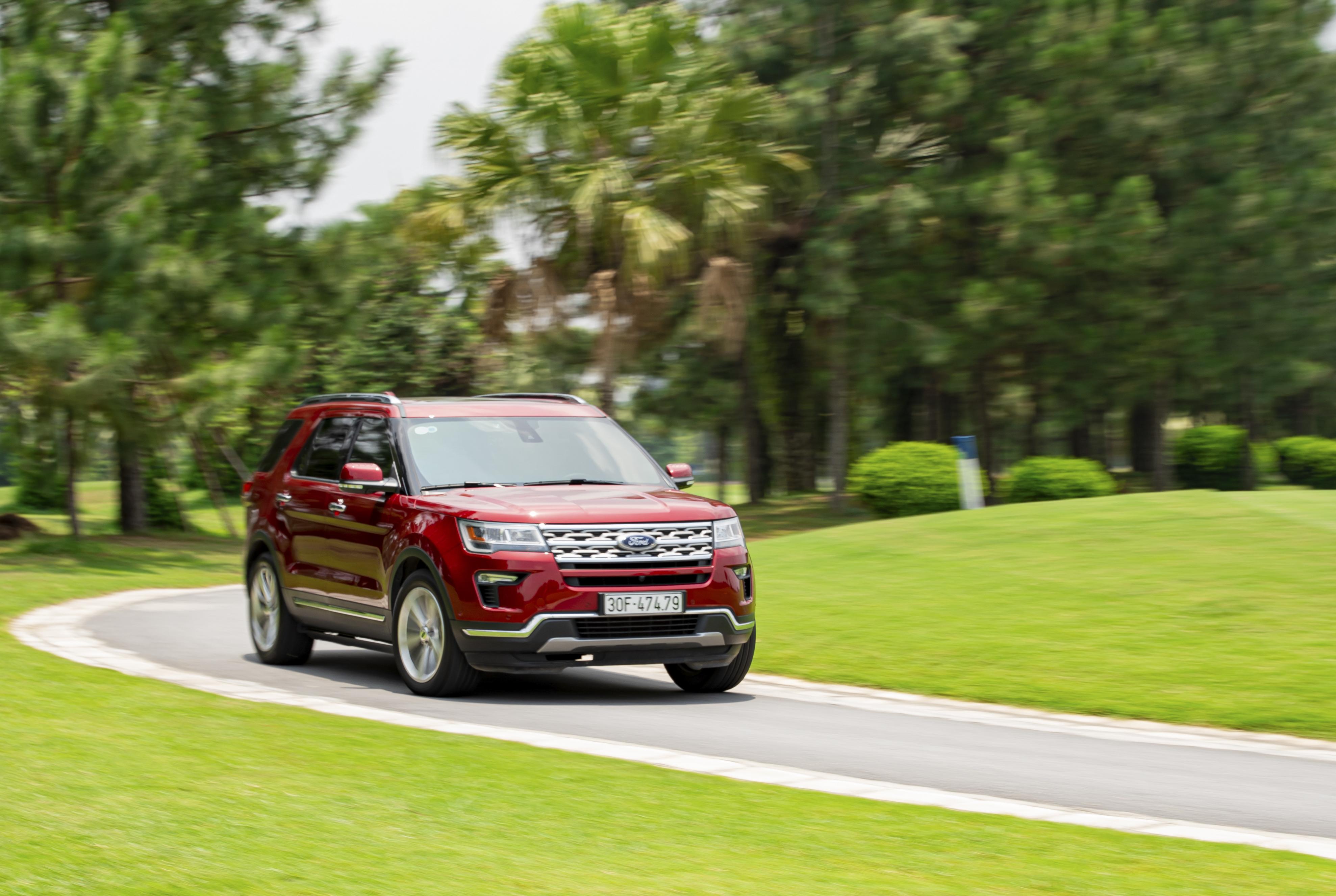 Ford Explorer là mẫu xe bán kém nhất trong tháng 2/2021 với chỉ duy nhất 1 xe bán ra.