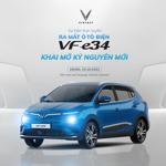 Ô tô điện VinFast VF e34 ra mắt trực tuyến ngày 15/10