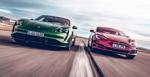 """Kém thông số, Porsche Taycan Turbo S vẫn """"ăn đứt"""" Tesla Model S Performance"""