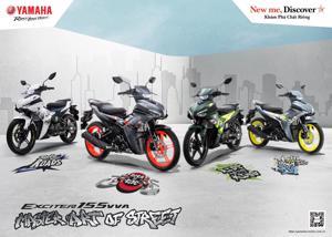 Loạt xe máy Yamaha mới vừa ra mắt thị trường Việt Nam