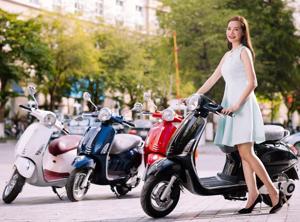 Thị trường xe máy Việt giảm hơn 45%
