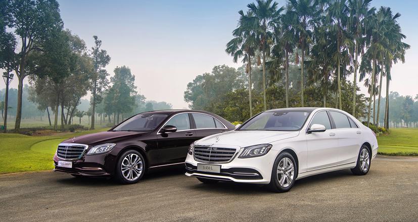 Khách hàng mua xe Mercedes S-Class S450 và S450 Luxury sản xuất trong năm 2020 sẽ được ưu đãi 50% lệ phí trước bạ