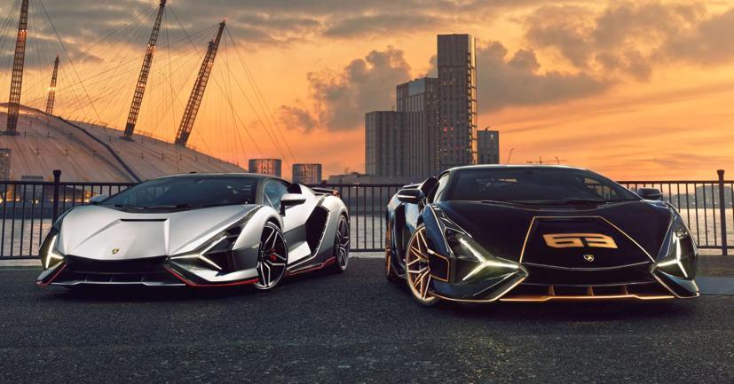 Cặp đôi siêu xe Lamborghini Sian 2021 cực hiếm lần đầu tiên lộ diện tại Anh - Ảnh 5