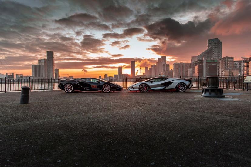 Cặp đôi siêu xe Lamborghini Sian 2021 cực hiếm lần đầu tiên lộ diện tại Anh - Ảnh 3