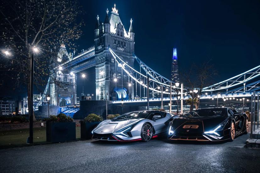 Cặp đôi siêu xe Lamborghini Sian 2021 cực hiếm lần đầu tiên lộ diện tại Anh - Ảnh 4