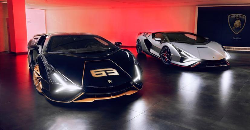 Cặp đôi siêu xe Lamborghini Sian 2021 cực hiếm lần đầu tiên lộ diện tại Anh - Ảnh 6